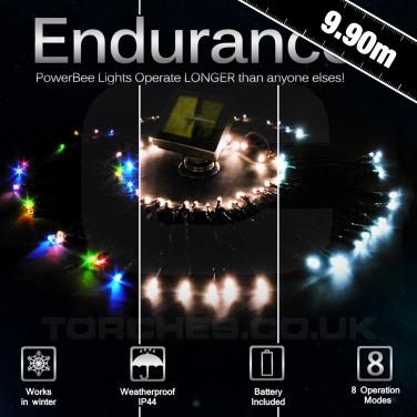 Endurance Solar 100 String Lights