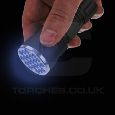 Led UV Torch (21 LED)