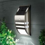 Black Nickel Motion Sensor Wall Light