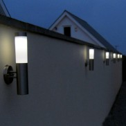 Canterbury Solar Wall Light